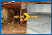 Crawl Space Decontamination